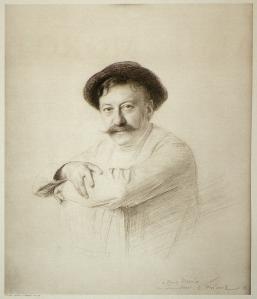 Emile Friant. Portrait d'Aimé Morot (1905)
