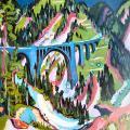 Ernst Ludwig Kirchner. Le pont de Wiesen (1926)