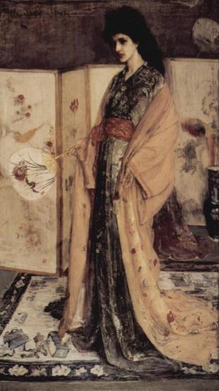 Whistler. La Princesse du Pays de la Porcelaine (1863-64)