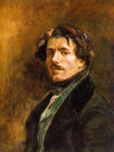 Eugène Delacroix. Autoportrait (1837)