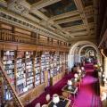Eugène Delacroix. Palais du Luxembourg, bibliothèque.