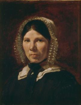 Eugène Delacroix. Portrait de Jeanne-Marie, dite Jenny le Guillou (v. 1840)