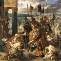 Eugène Delacroix. Prise de Constantinople par les Croisés (1840)