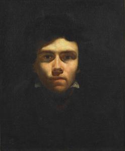Eugène Delacroix. Autoportrait (1816)