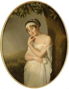 Eulalie Morin. Juliette Récamier (v. 1798)
