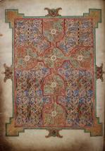 Évangéliaire de Lindisfarne folio 26v (690-721)