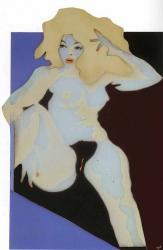 Evelyne Axell. Le désir (1969)
