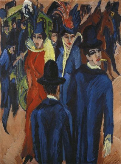 Kirchner. Scène de rue à Berlin, 1913