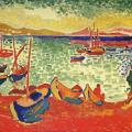Derain. Bateaux dans le Port, 1905