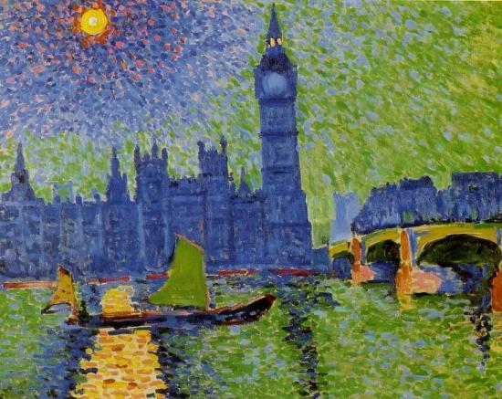 Derain. Big Ben, 1906