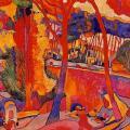 Derain. L'Estaque route tournante, 1906
