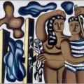Fernand Léger. Adam et Ève (1934)