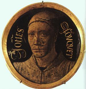 Fouquet. Autoportrait (1452-58)