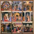 Fra Angelico. L'armadio degli Argenti, panneau de la jeunesse du Christ (1451-52)