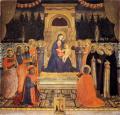 Fra Angelico. Retable de San Marco, panneau central (1438-40)