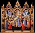 Fra Angelico. Retable Santa Trinita ou Descente de croix (1437-40)