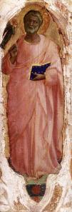 Fra Angelico. Retable San Domenico ou Pala di Fiesole, Saint Mathieu (1423-24)