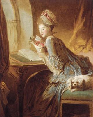 Fragonard. La Lettre d'Amour, 1770