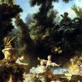Fragonard. La Poursuite, 1771-73