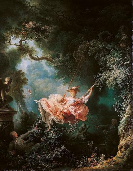 Fragonard. Les Hasards heureux de l'Escarpolette, 1767