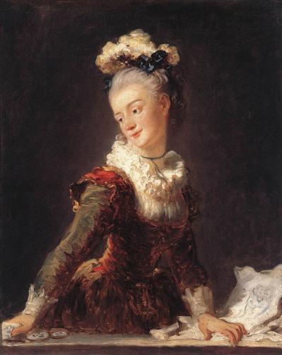 Fragonard. Marie-Madeleine Guimard (1769)