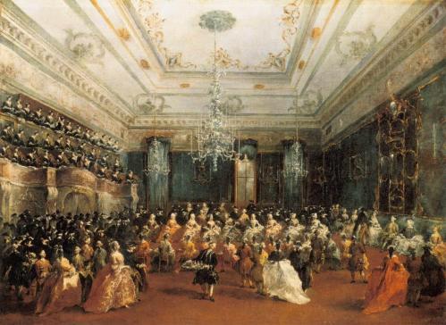 Francesco Guardi. Concert de gala à Venise (1782)