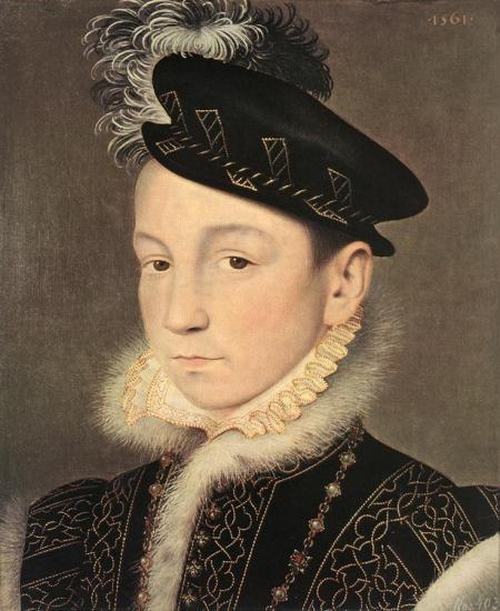 François Clouet. Charles IX (1561)