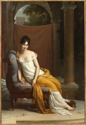 François Gérard. Juliette Récamier (v. 1805)