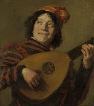 Frans Hals. Le joueur de luth, Rijksmuseum (1623-24)
