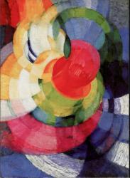František Kupka. Disques de Newton, étude pour fugue en deux couleurs (1912)