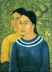 Frida Kahlo. Deux femmes (1929)