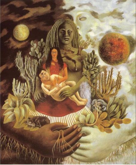 Frida Kahlo. La terre (1949)