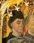 Froment. Autoportrait présumé. Résurrection de Lazare (1461)