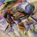 Boccioni. Dynamisme d'un Cycliste (1913)
