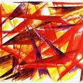 Larionov. Red rayonism, 1913
