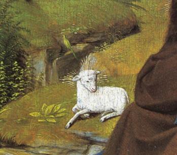 Gérard de Saint-Jean. Saint Jean-Baptiste au désert (détail)