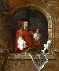 Gabriel Metsu. Autoportrait (1655-58)