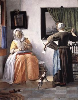 Gabriel Metsu. Femme lisant une lettre (1662-65)