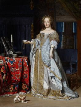 Gabriel Metsu. Portrait de Lucia Wijbrants (1667)