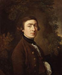 Gainsborough. Autoportrait, 1758-59