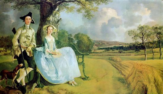 Gainsborough. M & Mme Robert Andrews, 1748-50