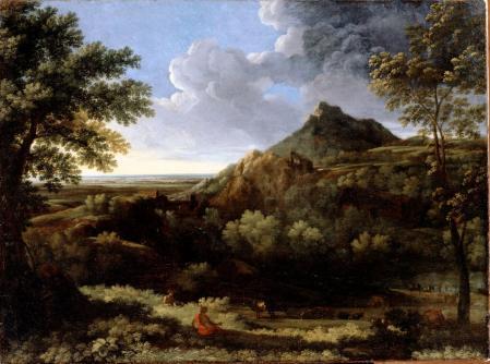 Gaspard Dughet. Paysage dans la campagne romaine (après 1670)