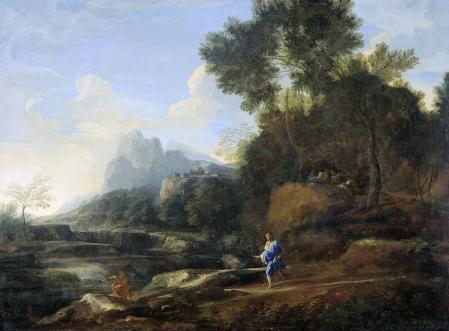 Gaspard Dughet. Paysage italien (1638-40)
