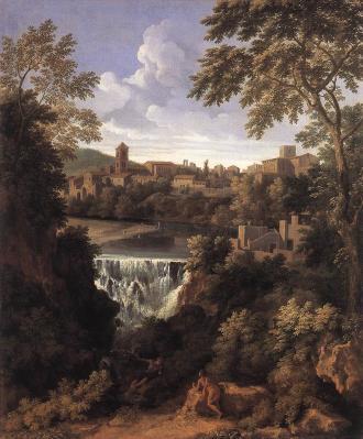 Gaspard Dughet. Les chutes de Tivoli (v. 1661)