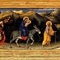 Gentile da Fabriano. L'Adoration des Mages, prédelle (1423)
