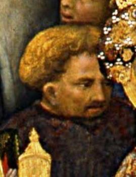 Gentile da Fabriano. Autoportrait présumé (1423)