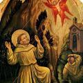 Gentile da Fabriano. La Stigmatisation de saint François (1415)