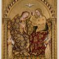 Gentile da Fabriano. Le Couronnement de la Vierge (v. 1420)