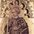 Gentile da Fabriano. Polyptyque Quaratesi, saint Georges (1425)