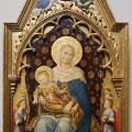 Gentile da Fabriano. Polyptyque Quaratesi, Vierge à l'Enfant (1425)